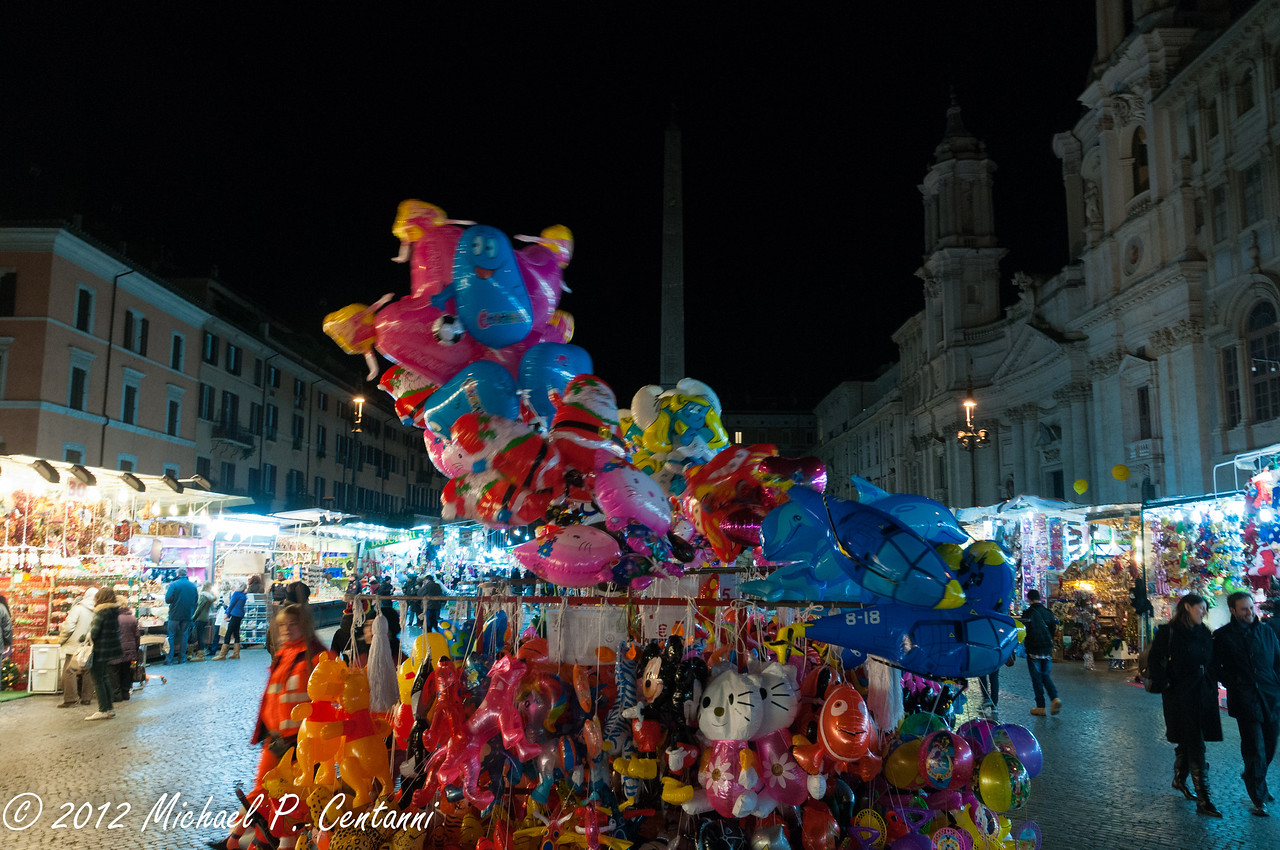 Christmas Market at the Piazza Navona