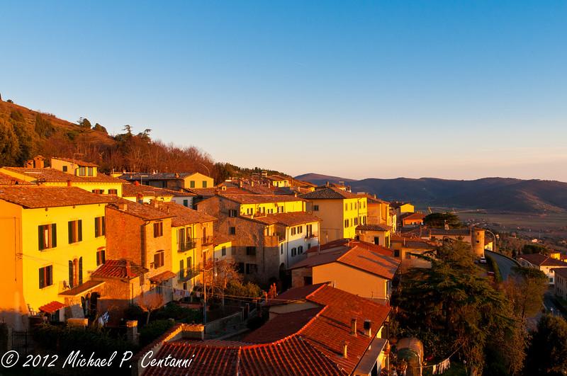 hills of Cortona