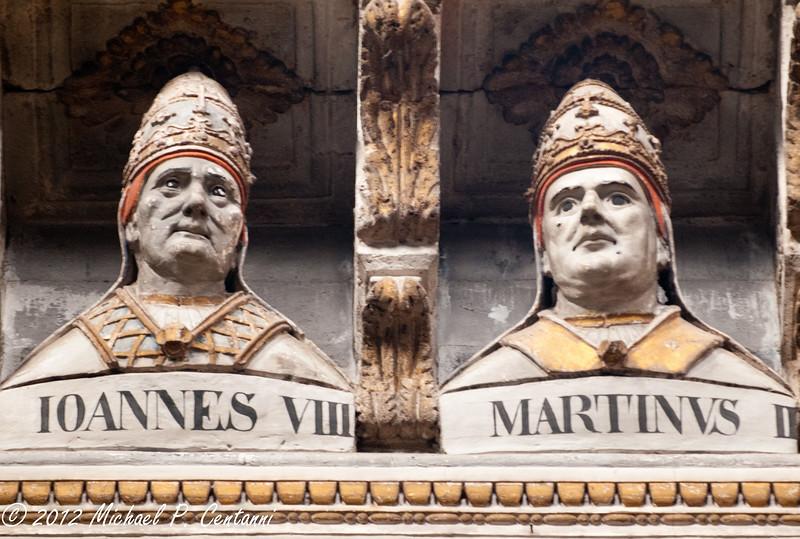 more creepy popes Inside the Duomo di Siena