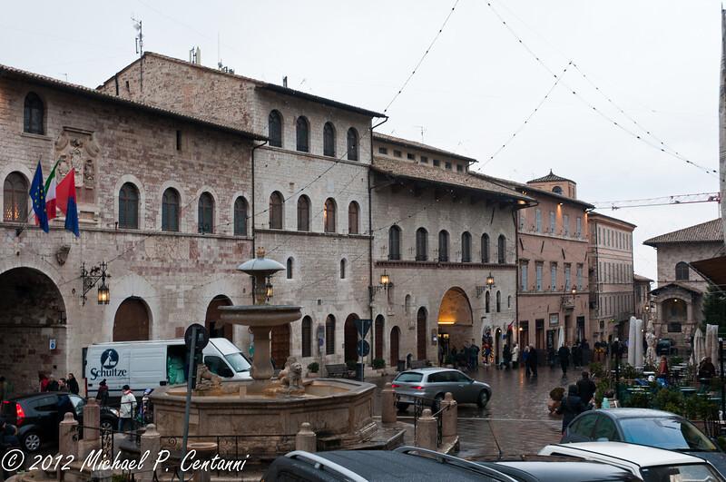 Piazza Comune, Assisi