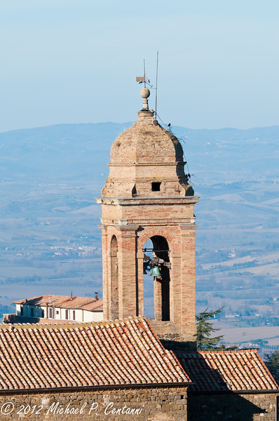 Montalcino from the fortezza