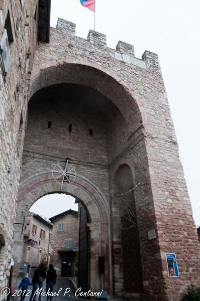 A porta in Assisi