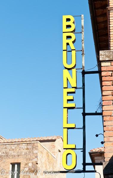 Montalcino - Brunello country!