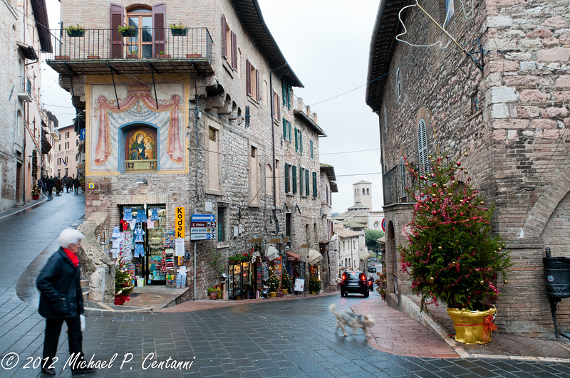 Via San Francesco, Assisi