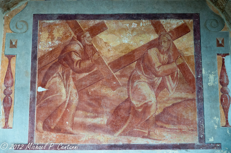 Inside the Baslica di San Francesco