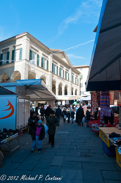 Market day in Cortona
