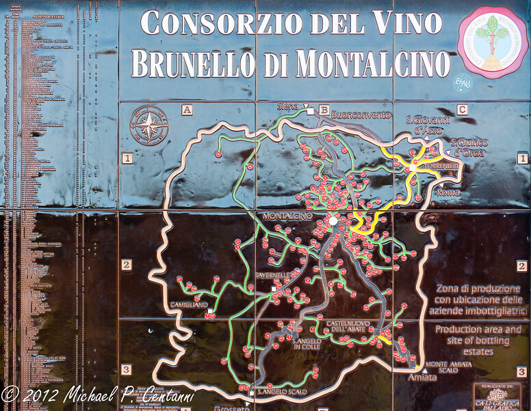 You are in Brunello Country