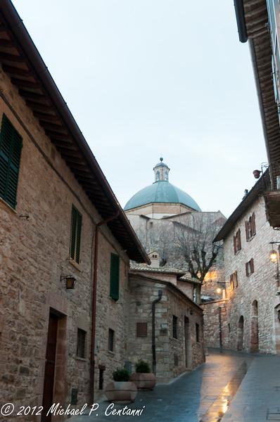 San Rufino dome, Assisi