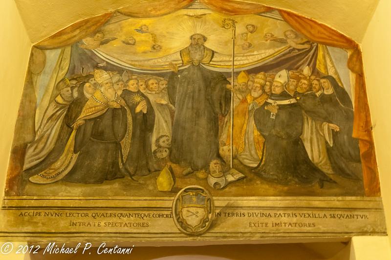 Inside San Domenico, Cortona
