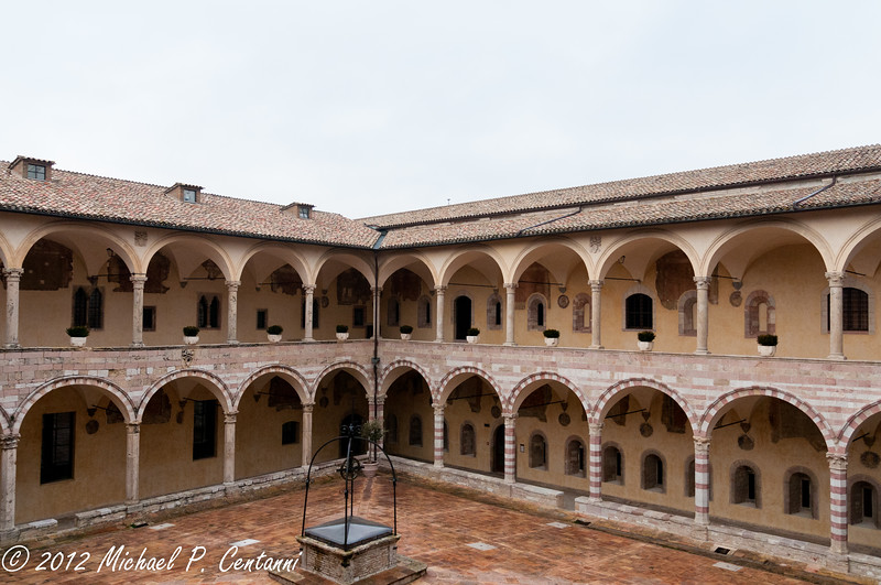 Inside the Baslica di San Francesco