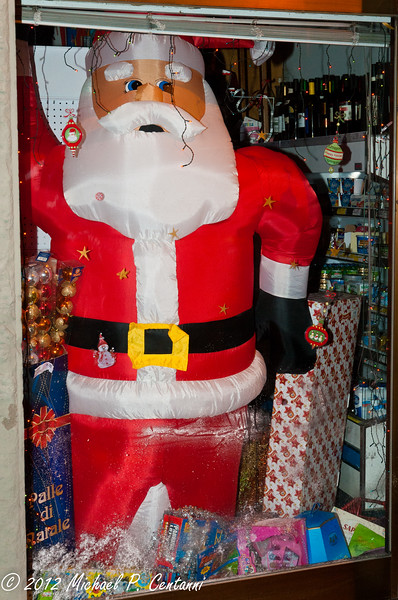 Babbo Natale in Cortona