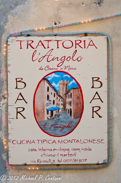 Corner Trattoria - Typical Montalcino kitchen