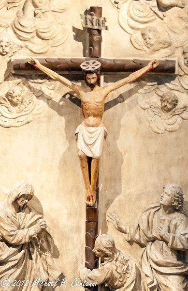Inside the Duomo di Siena