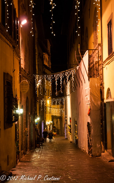 Christmas time in Cortona