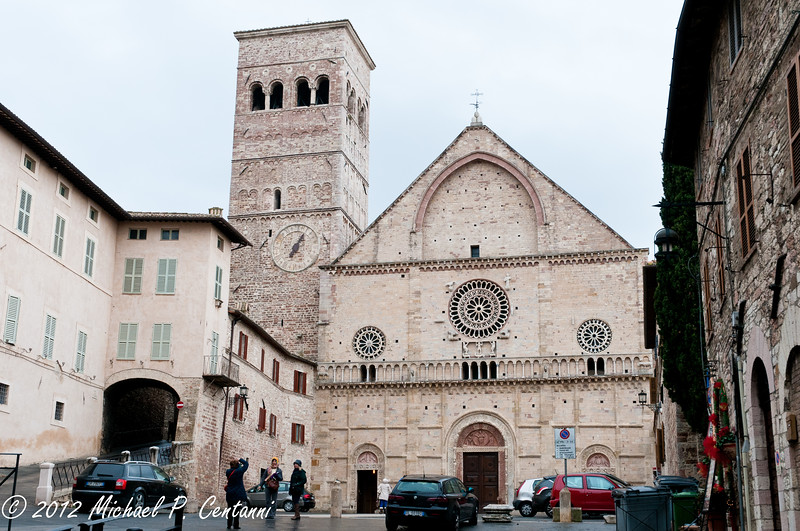 San Rufino, Assisi<br /> <br /> San Rufino is the patron saint of Assisi