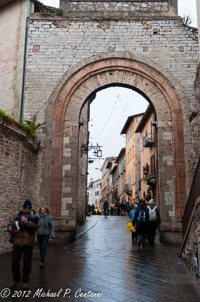 Porta San Francesco, Assisi