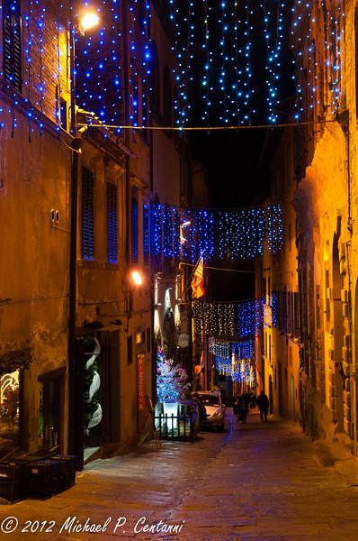 Christmas time in Cortona