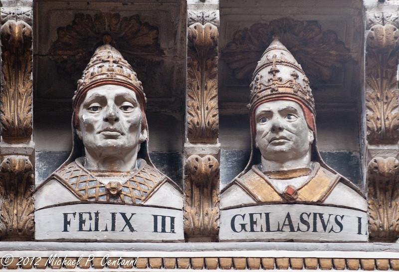 Creepy popes Inside the Duomo di Siena