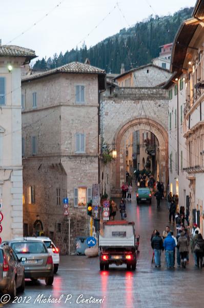 Via S. Agnese, Assisi