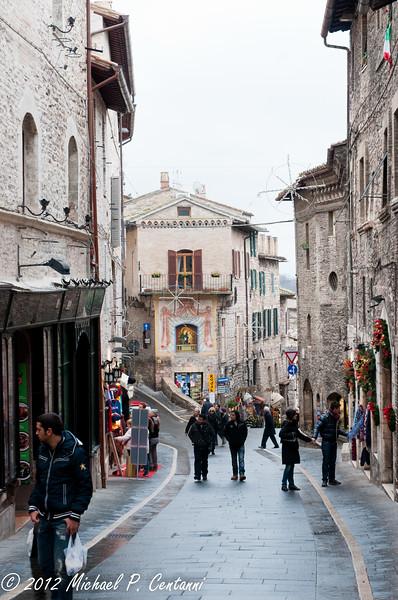 Via Frate Elia, Assisi