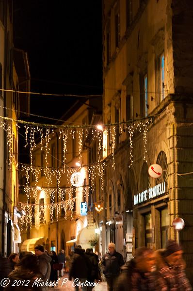 Christmas time - Via Nazionale, Cortona