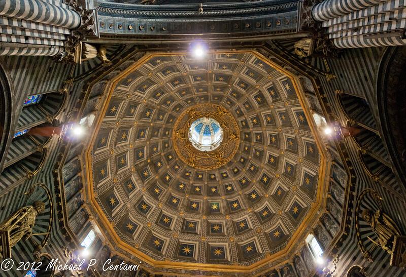 The dome of the Duomo di Siena