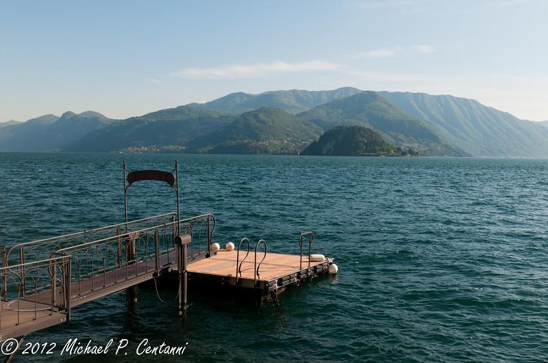 Boat dock of Hotel Du Lac, Varenna