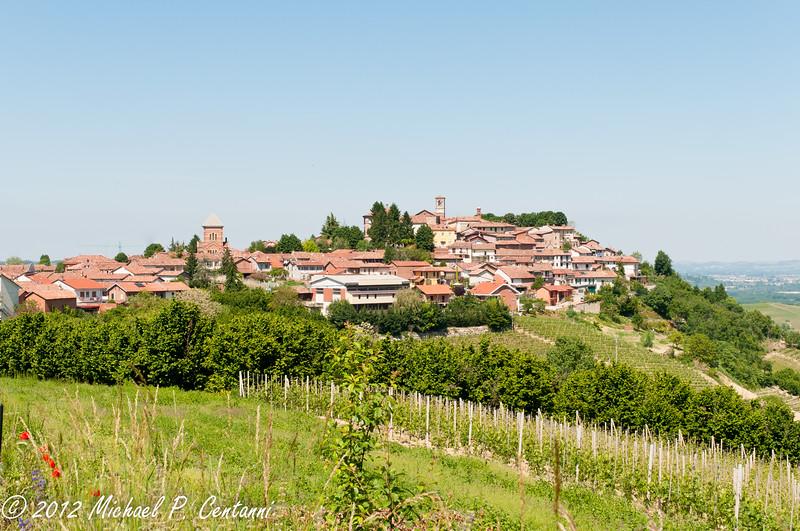 looking at Verduno from La Morra