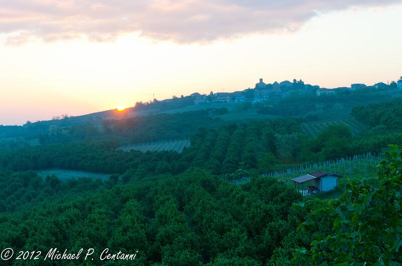 Sunrise and Verduno