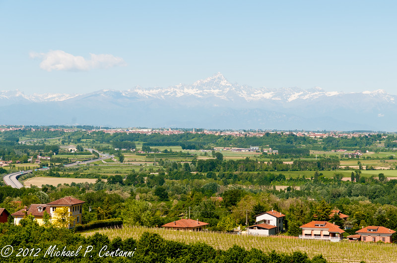 Italian Alps from the B&B