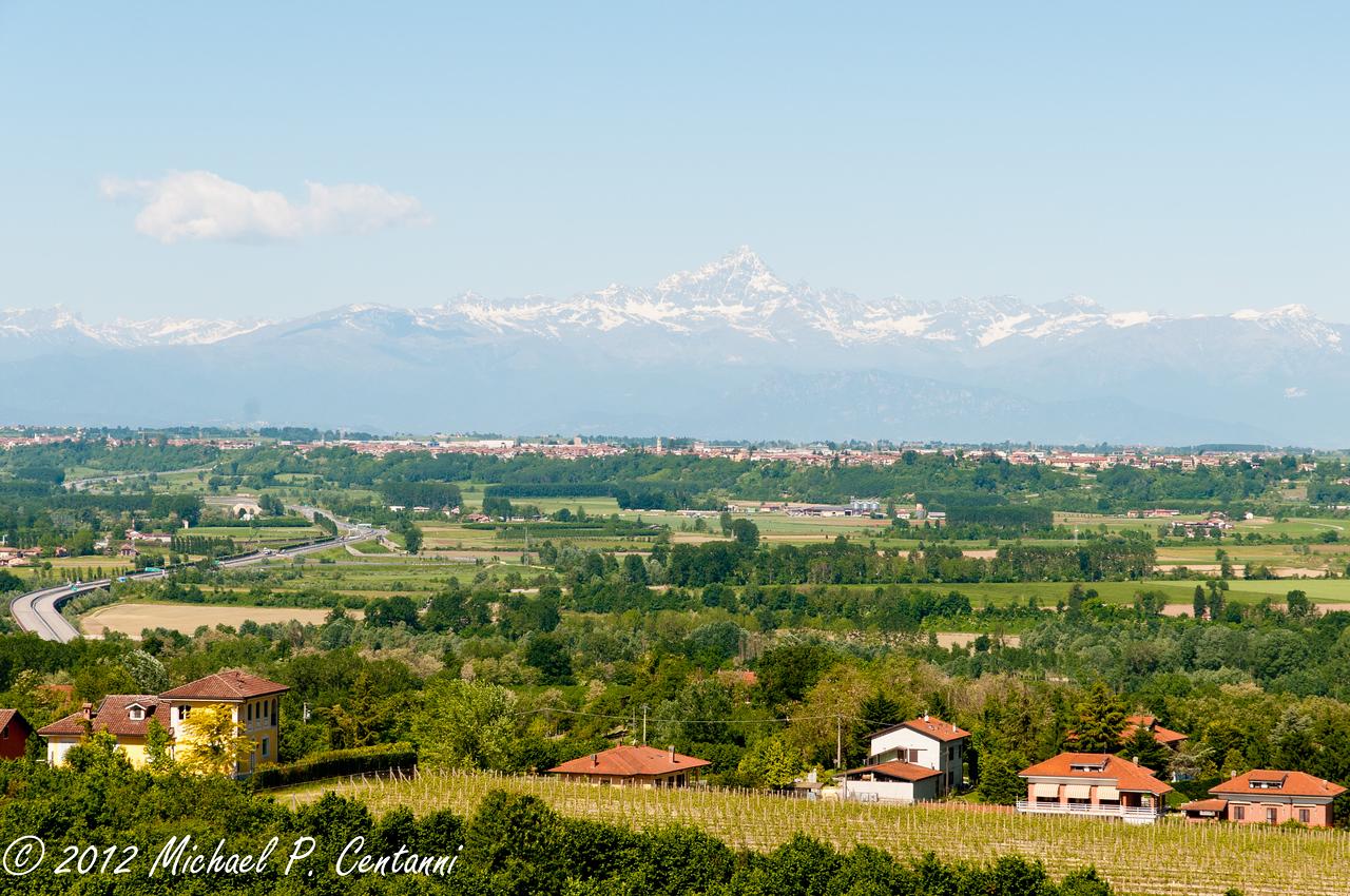 Italian Alps from the B&B