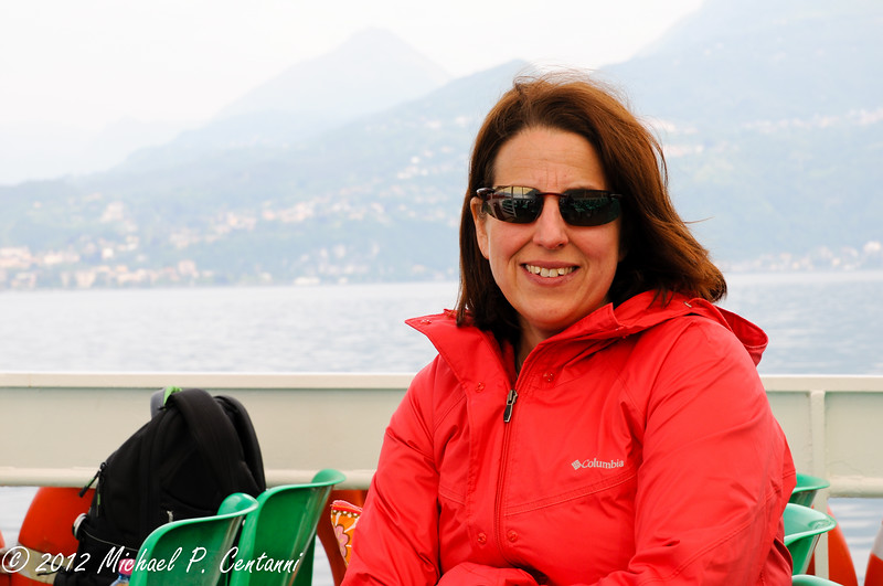 On the ferry from Bellagio to Comacina