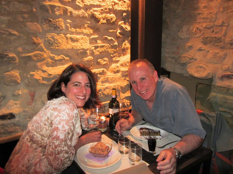 Dinner at Le Case della Saracca in Monforte d'Alba