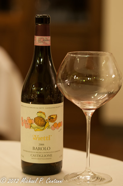 Our last bottle of Barolo