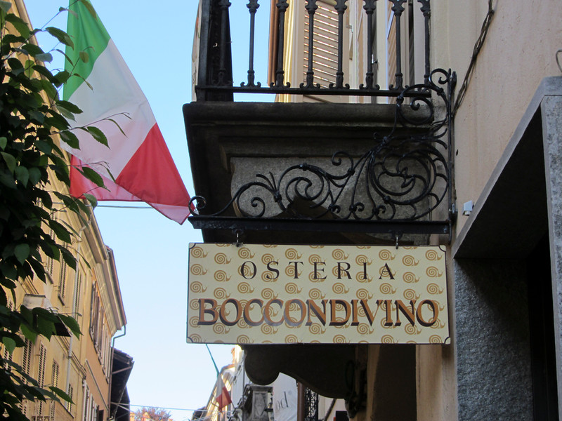 Osteria Boccondivino - the first Slow Food restaurant