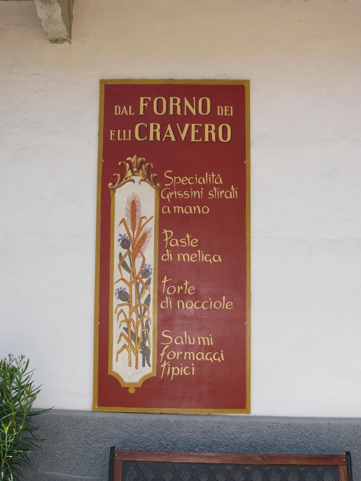 Bakery in Barolo