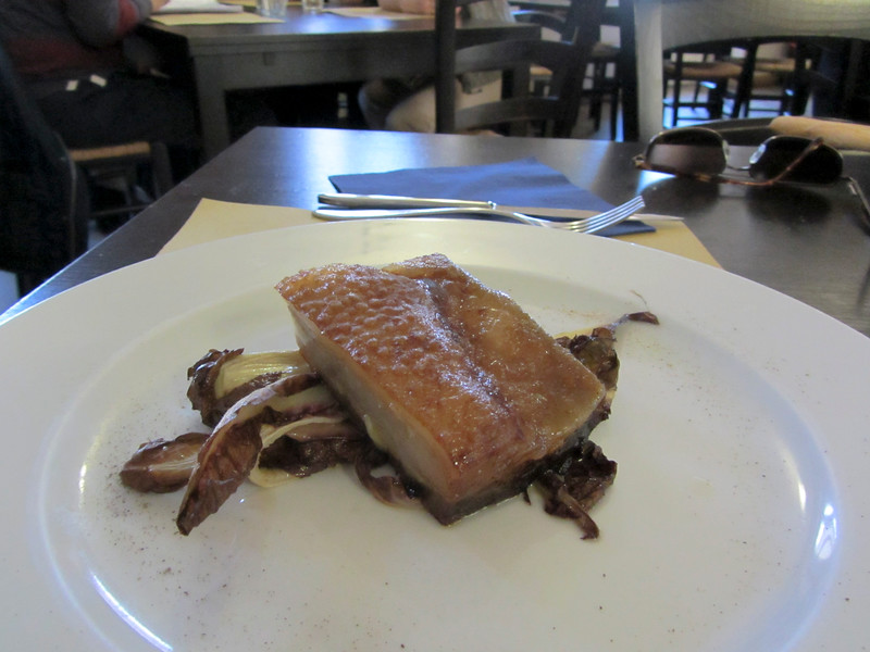 lunch again at More e Macine<br /> <br /> Pancia di maiale<br /> <br /> pork belly
