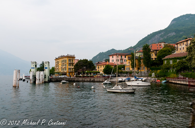 The harbor in Varenna