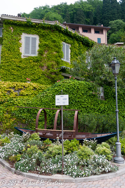 traditional fishing boats of Lake Como