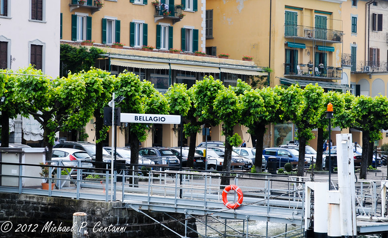 The ferry terminal at Bellagio