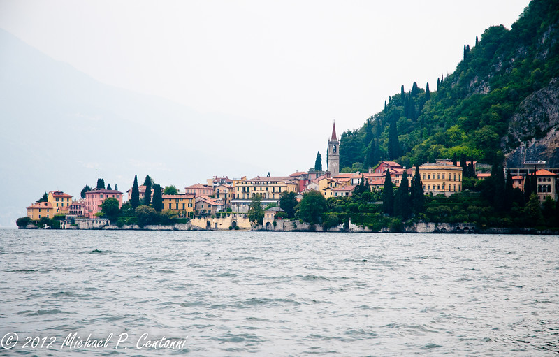 Varenna from the water