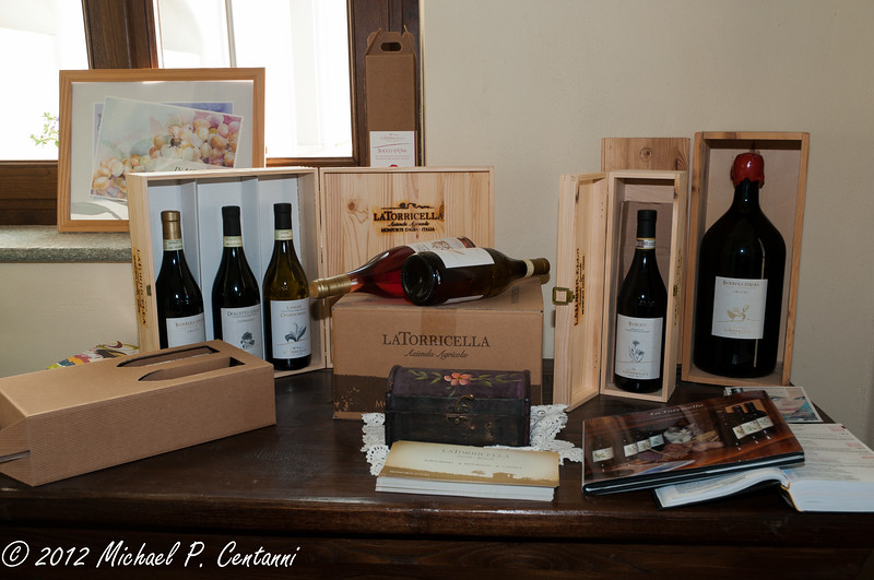 The wines of La Torricella