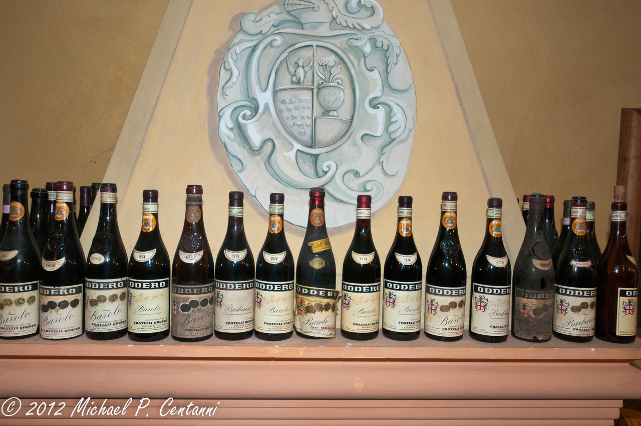 The many vintages of Oddero Barolo
