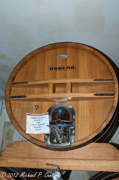 Oddero wine barrels