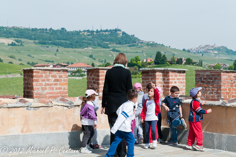 field trip to the Barolo museum