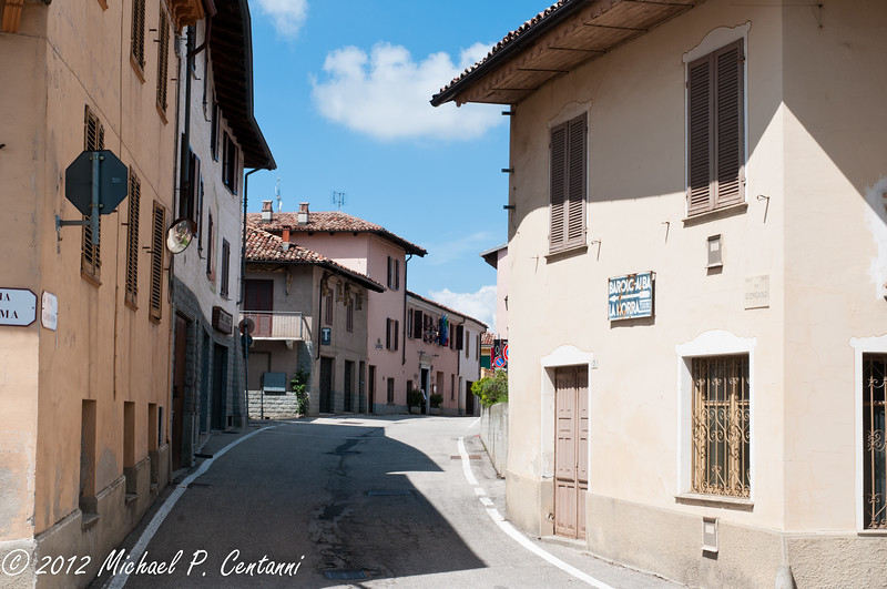 A street in Novello