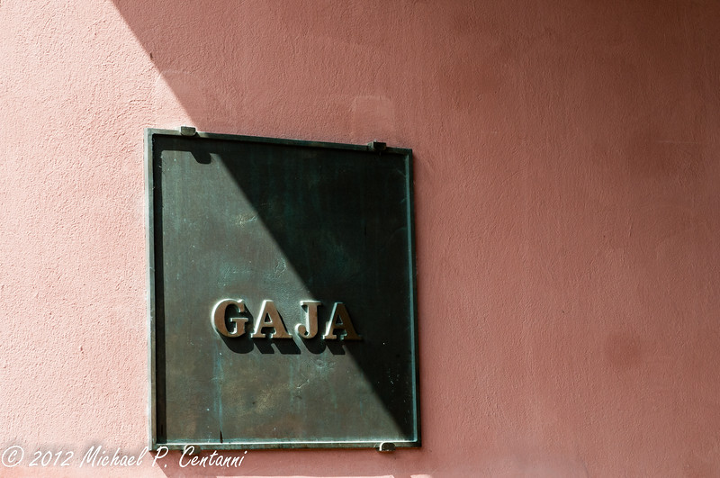Gaja Cantina in Barbaresco