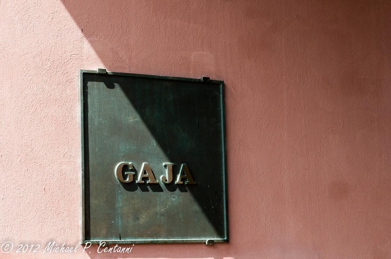 Gaja Cantina in Barbaresco