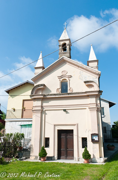 A church in Verduno