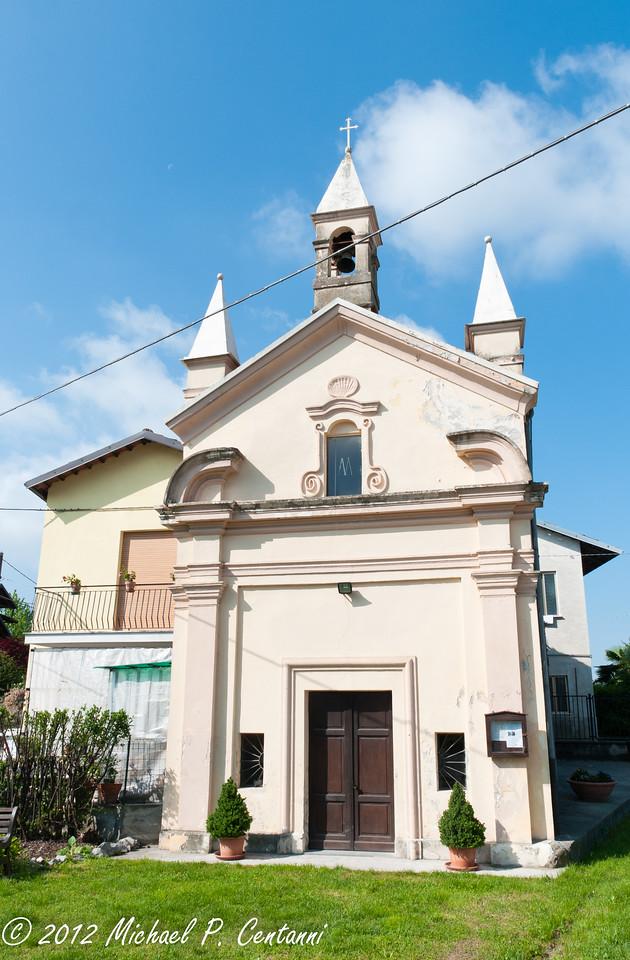 A church in Verduno
